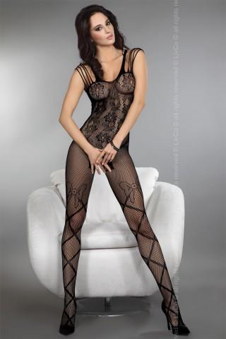 Секси мрежесто фигурално целокупно боди LivCo Zoleen