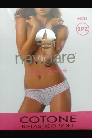Секси цветни гащички Navigare в комплект по 3 броя