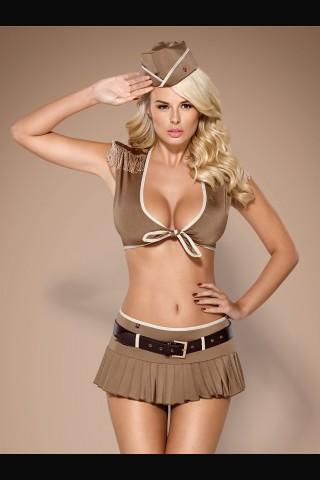 Изключително секси военен костюм на Obsessive