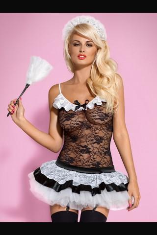 Еротичен костюм френска прислужница - Housemaid
